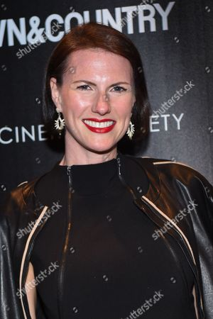 "Stock Image of Jennifer Levene Bruno attends a special screening of ""Aloft"" hosted by The Cinema Society and Town & Country at the Tribeca Grand Hotel, in New York"