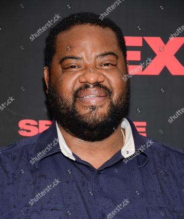 """Grizz Chapman attends a special screening of """"Sex Tape"""" at the Regal Union Square, in New York"""