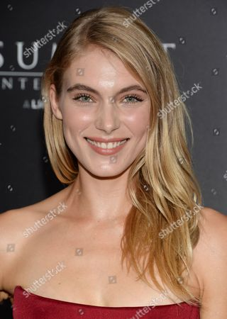 "Allegra Carpenter attends a special screening of ""The Last Witch Hunter"" at the Loews Lincoln Square, in New York"