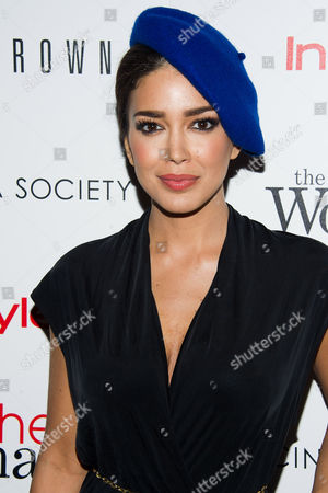"Sahar Biniaz attends the premiere of ""The Other Woman"" hosted by The Cinema Society and Bobbi Brown on in New York"
