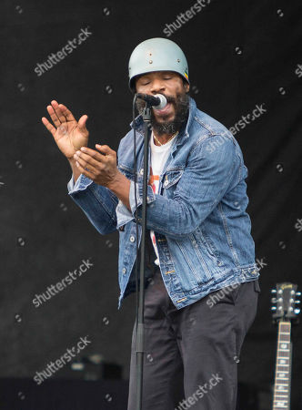 Cody Chesnutt performs during the ONE Musicfest at Aaron's Amphitheatre at Lakewood, in Atlanta