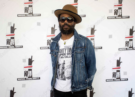 Portrait of Cody Chesnutt during the ONE Musicfest at Aaron's Amphitheatre at Lakewood, in Atlanta