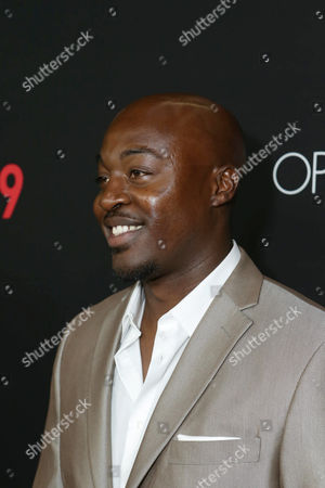Stock Image of Labrandon Shead seen at Open Road's 'Triple 9' Los Angeles Premiere at Regal L.A. Live, in Los Angeles, CA