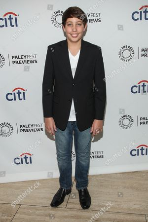 Stock Picture of Actor Ryan Scott Lee arrives at the PaleyFest Previews: Fall TV show 'Trophy Wife' at The Paley Center for Media on in Beverly Hills, Calif