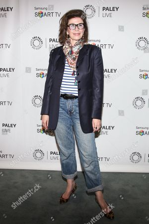 "Executive producer Sara Colleton arrives at the PaleyFest Previews Fall TV Farewell to ""Dexter"" at The Paley Center for Media on in Beverly hills, Calif"