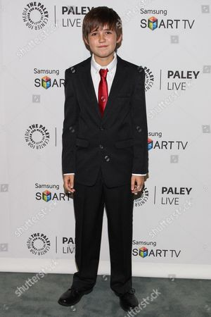 """Actor Preston Bailey arrives at the PaleyFest Previews Fall TV Farewell to """"Dexter"""" at The Paley Center for Media on in Beverly hills, Calif"""