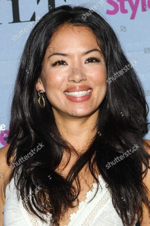 Actress Stephanie Jacobsen arrives at the 2013 People StyleWatch Denim Party at the Palihouse on in Los Angeles
