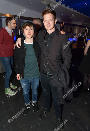 Stock Photo of Jack Ellis Leach and Richard Jones Jack Ellis Leach, Sophie Ellis Bextor little brother and Richard Jones attend an exclusive preview at the OXO Tower to celebrate the arrival of PlayStation4 in the UK,, in London