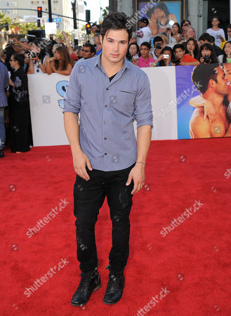 """Cody Longo arrives at the premiere of """"Step Up Revolution"""", in Los Angeles"""