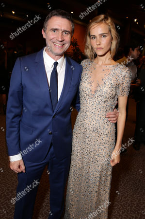 """Director Erik Van Looy and Isabel Lucas seen at the Premiere of """"The Loft"""" Featuring Ketel One Vodka, in Los Angeles"""