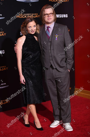 Kira Sternbach and Elden Henson seen at Los Angeles Premiere of Lionsgate's 'The Hunger Games: Mockingjay - Part 2', in Los Angeles, CA