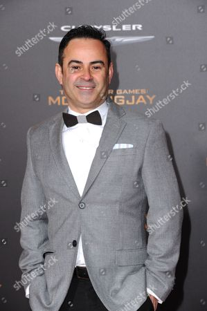 Nelson Ascencio seen at Los Angeles Premiere of Lionsgate's 'The Hunger Games: Mockingjay - Part 2', in Los Angeles, CA