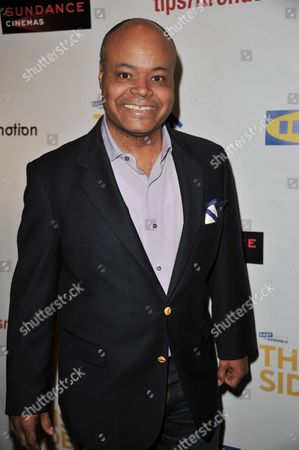 """Terence Bernie Hines attends Easy to Assemble's premiere of """"This Side Up"""" at Sundance Sunset Cinemas, in Los Angeles"""