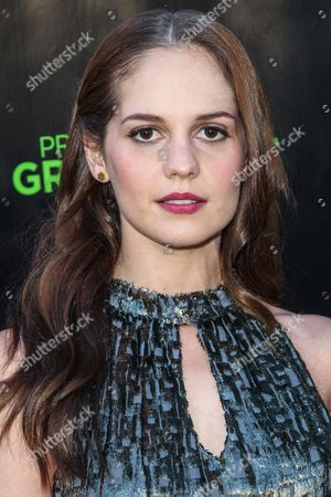 Melanie Zanetti attends The Project Greenlight Season 4 premiere of 'The Leisure Class' at The Theatre At The Ace Hotel on in Los Angeles