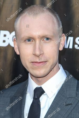Jason Mann attends The Project Greenlight Season 4 premiere of 'The Leisure Class' at The Theatre At The Ace Hotel on in Los Angeles
