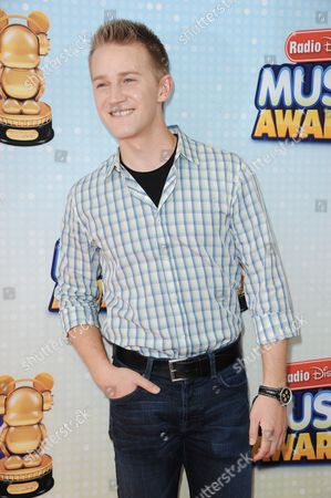 Jason Dolley arrives at the Radio Disney Music Awards at the Nokia Theatre on in Los Angeles
