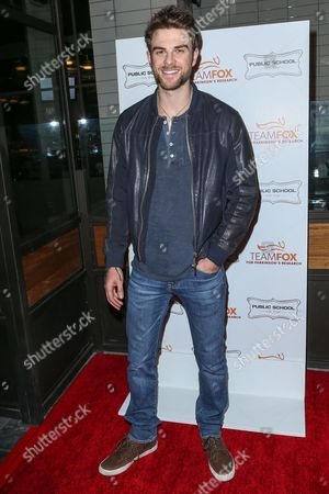 Stock Photo of Nathaniel Buzolic attends the Raising The Bar To End Parkinson's event at Public School 818 on in Los Angeles