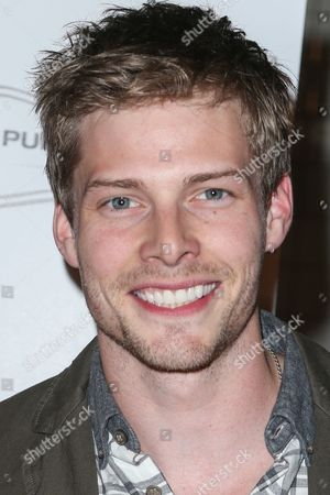 Hunter Parrish attends the Raising The Bar To End Parkinson's event at Public School 818 on in Los Angeles