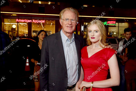 """Ed Begley Jr. and Hayden Carson Begley seen at Relativity Studios Presents """"Masterminds"""" Los Angeles Premiere at TCL Chinese Theatre, in Hollywood"""