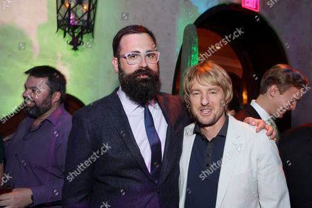 """Director Jared Hess and Owen Wilson seen at Relativity Studios Presents """"Masterminds"""" Los Angeles Premiere at TCL Chinese Theatre, in Hollywood"""