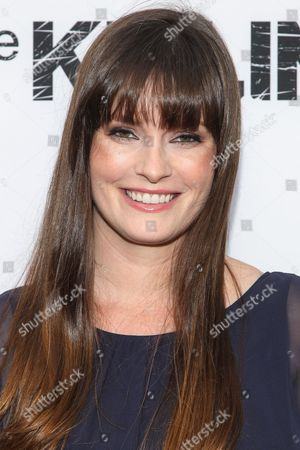 """Jamie Anne Allman attends Netflix's """"The Killing"""" Season 4 Premiere at the Arclight Hollywood, in Hollywood, CA"""