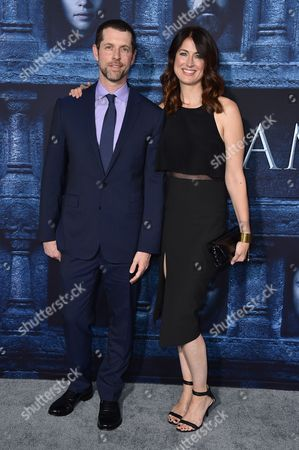 """Dan Weiss attends the season six premiere of """"Game Of Thrones"""" at TCL Chinese Theatre on in Los Angeles"""