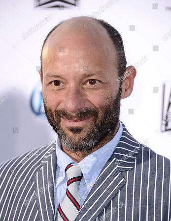 """Actor Michael Ornstein arrives on the red carpet at the season six premiere screening of the television series """"Sons of Anarchy"""" at the Dolby Theatre on in Los Angeles"""
