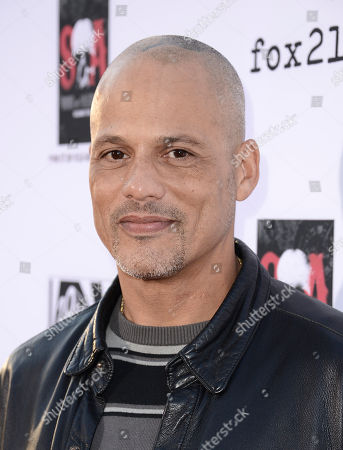 """Actor David Labrava arrives on the red carpet at the season six premiere screening of the television series """"Sons of Anarchy"""" at the Dolby Theatre on in Los Angeles"""