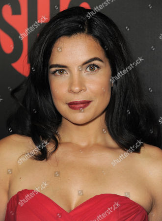 Zuleikha Robinson attends the Showtime Emmy Eve Soiree at the Sunset Tower Hotel, in Los Angeles