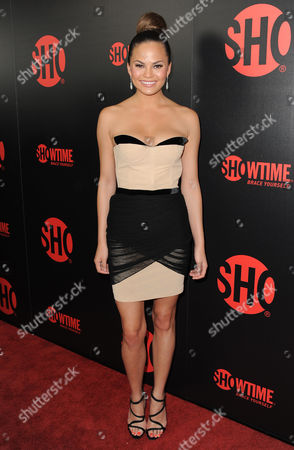 Stock Photo of Chrissy Tiegan attends the Showtime Emmy Eve Soiree at the Sunset Tower Hotel, in Los Angeles