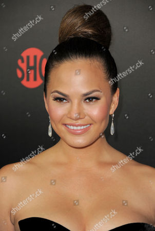 Chrissy Tiegan attends the Showtime Emmy Eve Soiree at the Sunset Tower Hotel, in Los Angeles