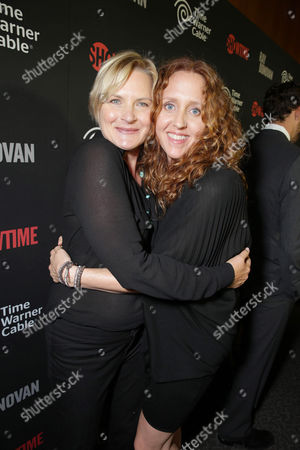 Denise Crosby and Brooke Smith seen at the Showtime Premiere of the New Drama Series Ray Donovan presented by Time Warner Cable, on Tuesday, June, 25, 2013 in Los Angeles