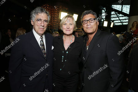 Elliott Gould, Denise Crosby and Steven Bauer seen at the Showtime Premiere of the New Drama Series Ray Donovan presented by Time Warner Cable, on Tuesday, June, 25, 2013 in Los Angeles