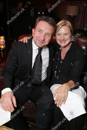 Eddie Marsan and Denise Crosby seen at the Showtime Premiere of the New Drama Series Ray Donovan presented by Time Warner Cable, on Tuesday, June, 25, 2013 in Los Angeles