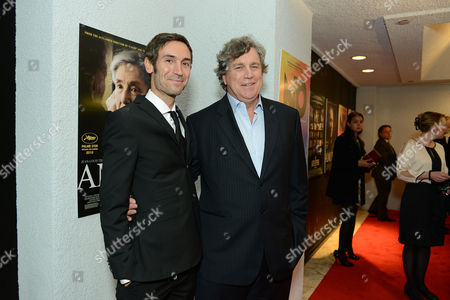 Malik Bendjelloul and Sony Pictures Classics Tom Bernard attend the Sony Pictures Classics Pre-Oscar Dinner at The London Hotel on in West Hollywood, California