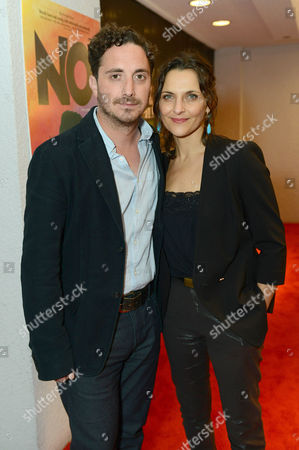 Director Pablo Larrain and actress Antonia Zegers attend the Sony Pictures Classics Pre-Oscar Dinner at The London Hotel on in West Hollywood, California