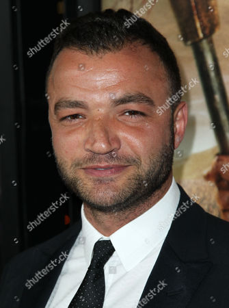 """Stock Image of Nick Tarabay arrives at the premiere of """"Spartacus: War of the Damned"""" on in Los Angeles. """"Spartacus: War of the Damned"""" premieres Friday, Jan. 25 at 9PM on STARZ"""