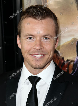 """Todd Lasance arrives at the premiere of """"Spartacus: War of the Damned"""" on in Los Angeles. """"Spartacus: War of the Damned"""" premieres Friday, Jan. 25 at 9PM on STARZ"""