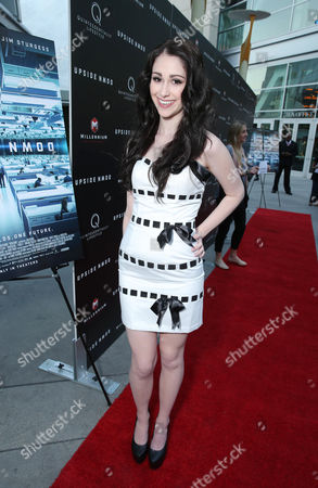 """Sarah Hackett at the LA special screening of Millennium Entertainment's """"Upside Down"""" at the ArcLight Hollywood on in Los Angeles"""