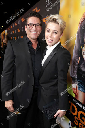 "Oren Aviv, President and Chief Content Officer for Motion Picture Group, STX Entertainment, and Sophie Watts, President of STX Entertainment, seen at STX Entertainment Special Screening of ""The Edge of Seventeen"" at the Regal LA LIVE, in Los Angeles"
