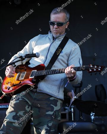 JJ Grey performs at the Sunshine Music and Blues Festival at the Mizner Park Amphitheater on in Boca Raton, Florida