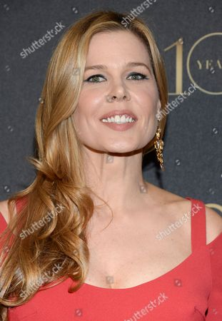 """Mary Alice Stephenson arrives at the tenth annual L'Oreal Paris """"Women of Worth"""" awards gala at The Pierre Hotel, in New York"""
