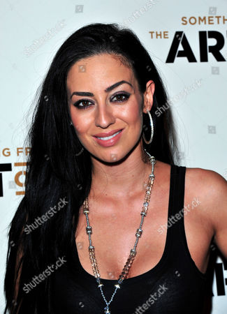 Maria Koukas poses at The Art of Rap World Premiere at Hammersmith Apollo on in London
