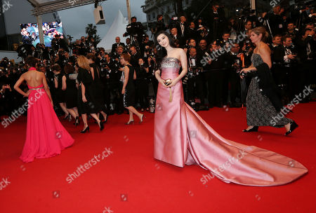Fan Bing Bing arrives for the opening ceremony and the screening of The Great Gatsby at the 66th international film festival, in Cannes, southern France