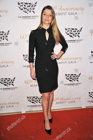 Ivana Milicevic arrives at The Humane Society Of The United States 60th Anniversary Benefit Gala, in Beverly Hills, Calif