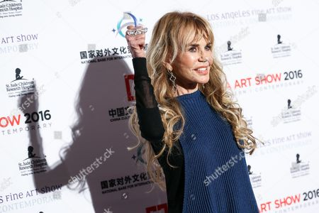 Dyan Cannon attends The LA Art Show and The LA Fine Art Show Opening Night Premiere Party held at the LA Convention Center, in Los Angeles