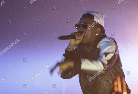 Jordan Michael Houston for Juicy J performing as part of The Never Sober Tour at The Masquerade, in Atlanta