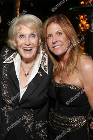 """Exclusive - Jane Weintraub and Executive Producer Susan Ekins seen at The World Premiere of Warner Bros. Pictures and Village Roadshow Pictures' """"The Legend of Tarzan"""" at Dolby Theater, in Los Angeles"""