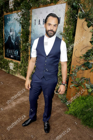 """Casper Crump seen at The World Premiere of Warner Bros. Pictures and Village Roadshow Pictures' """"The Legend of Tarzan"""" at Dolby Theater, in Los Angeles"""