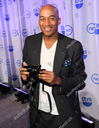 Actor James Lesure attends the TNT and TBS 2013 Upfront at the Hammerstein Ballroom on in New York